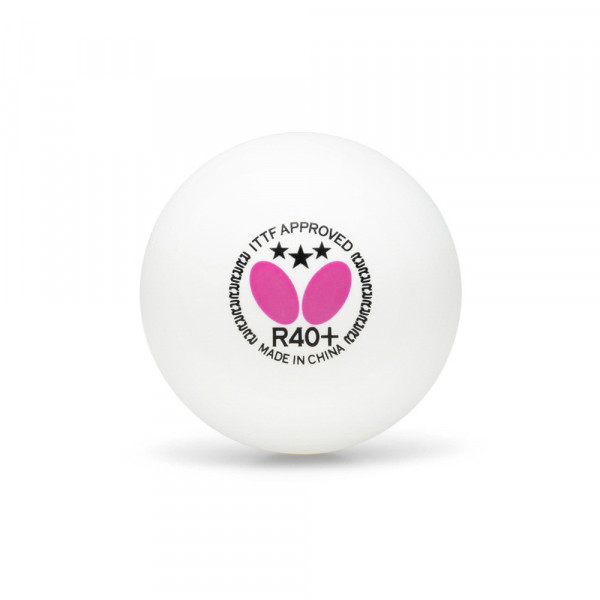 Мячи для настольного тенниса Butterfly 3*** R40+ (3 шт.)