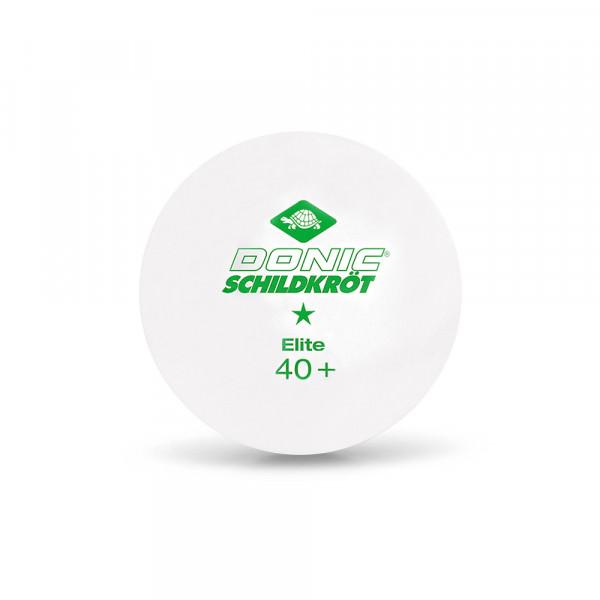 Мячи для настольного тенниса Donic 1* Elite 40+ (3 шт.)