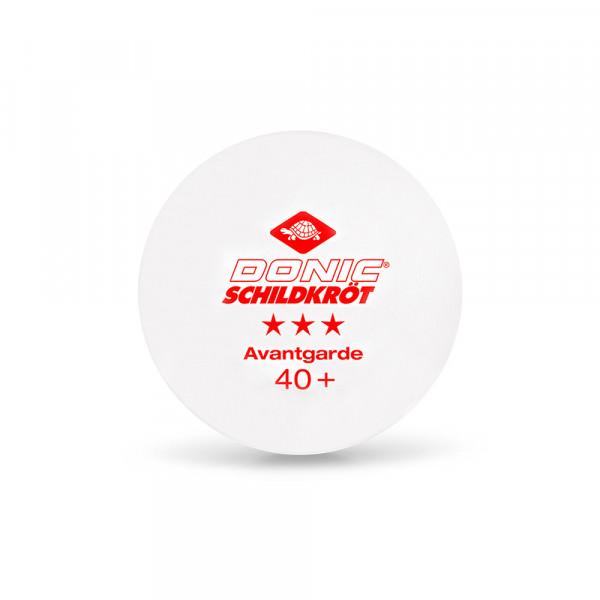 Мячи для настольного тенниса Donic 3*** Avantgarde 40+ (3 шт.)