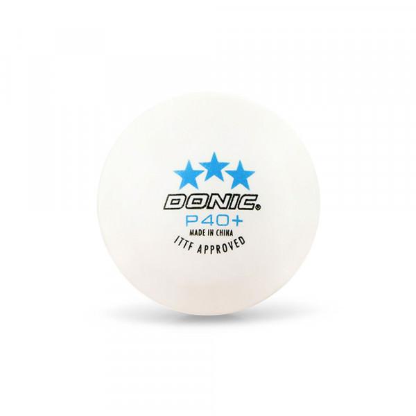 Мячи для настольного тенниса Donic 3*** P40+ (3 шт.)