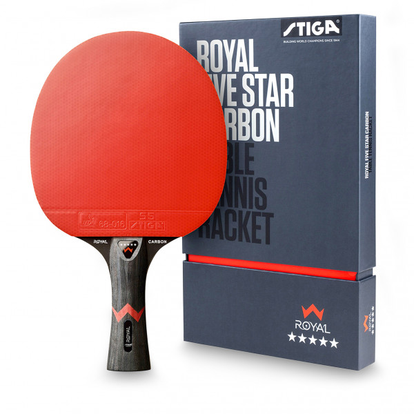 Ракетка для настольного тенниса Stiga Royal Five Star Carbon