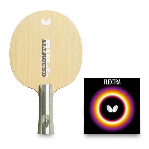 Сборная ракетка Butterfly Timo Boll Allround + Flextra