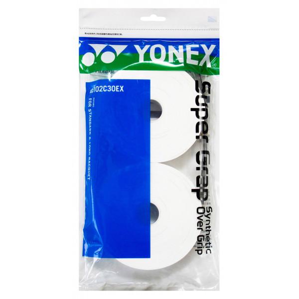 Обмотка Yonex AC102C-30EX White (30шт.)
