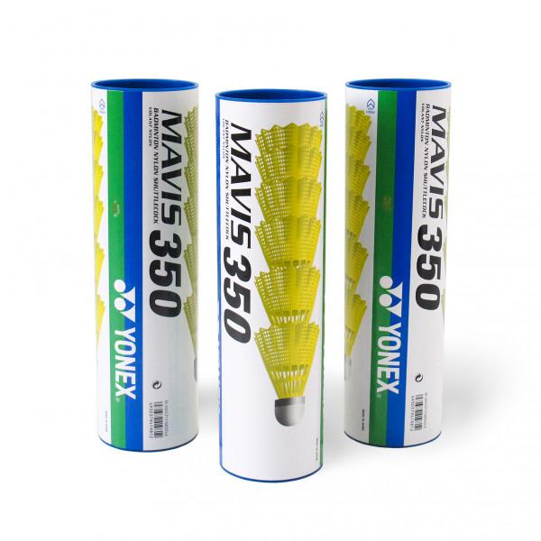 Воланы пластиковые Yonex Mavis 350 - 6шт. (Middle)